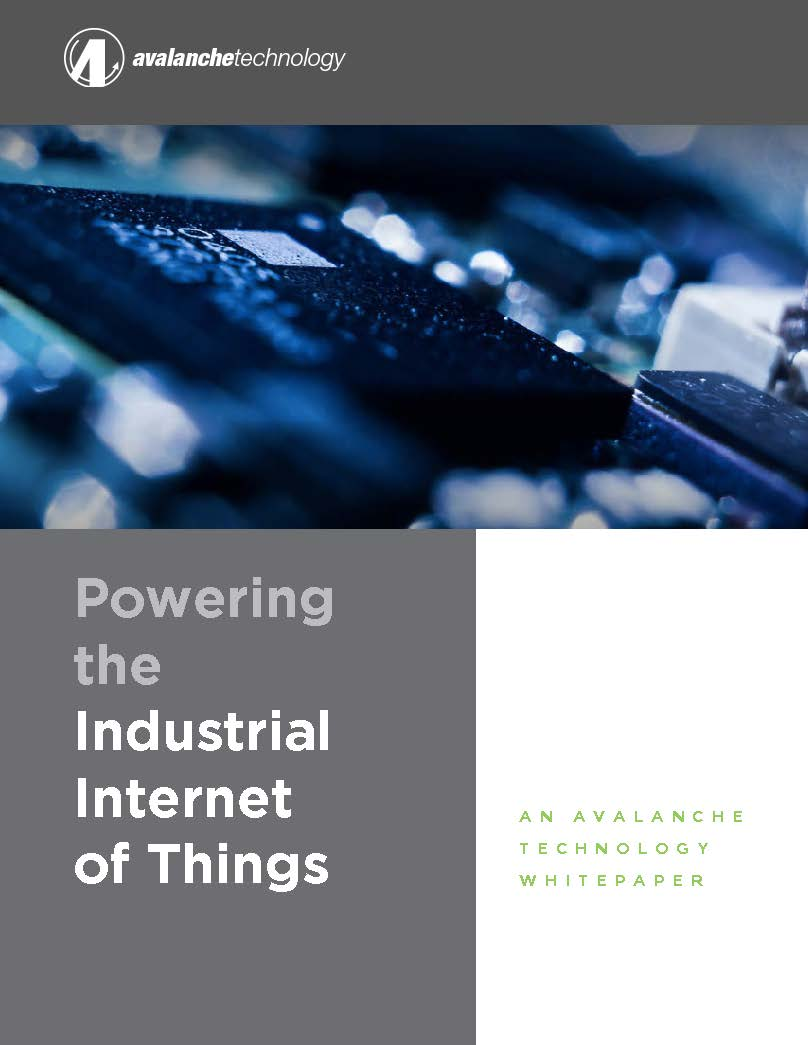 Avalanche IIoT Whitepaper Cover